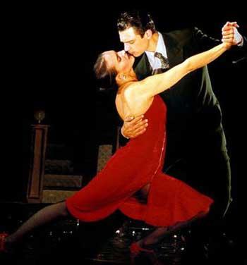 В начале XX века танго
